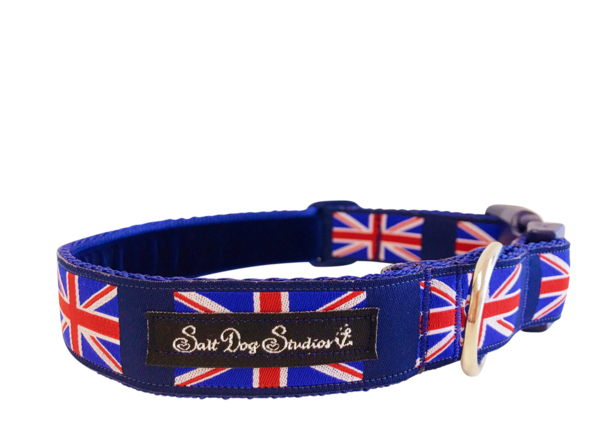 Union Jack Dog Collar ©