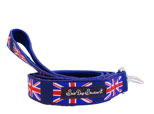 Union Jack Dog Lead ©