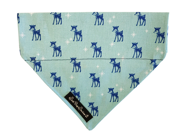 Blitzen Christmas Dog Bandana  ©