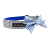 Baby Blue Gingham Bow Tie ©