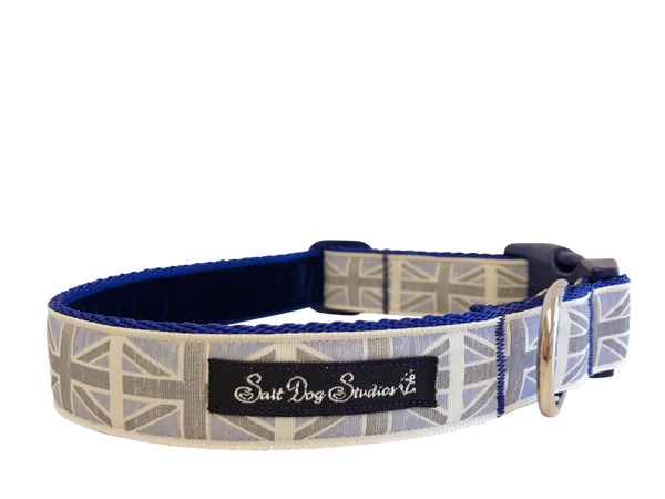 Winston Blue Dog Collar ©