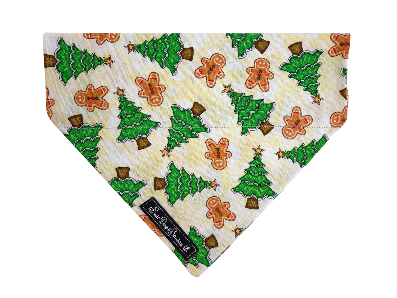 Christmas Cottage  Dog Bandana  ©