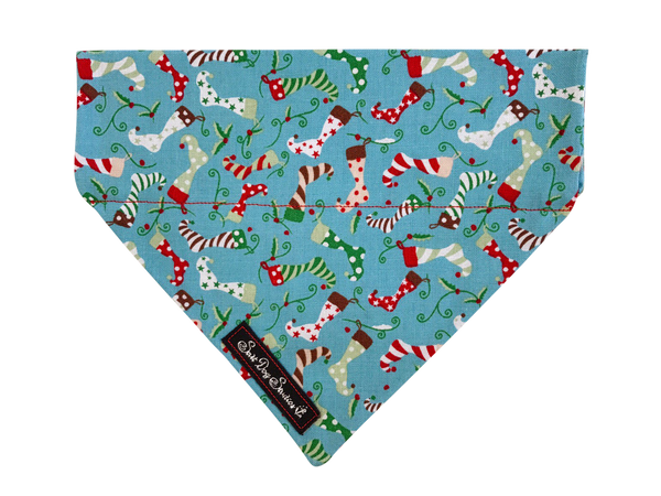 Christmas Stocking Dog Bandana ©