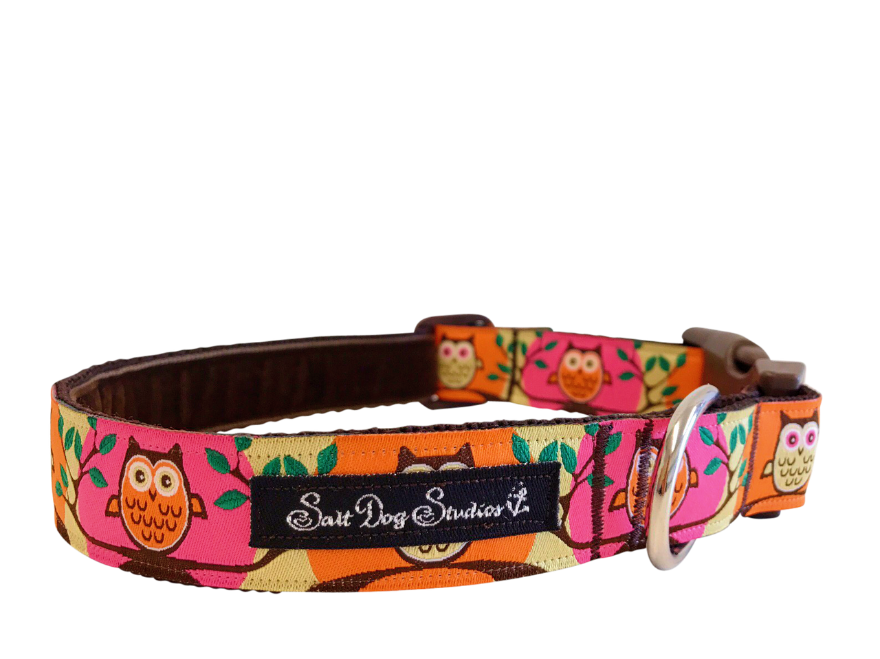 Hot Twit Twoo Dog Collar ©