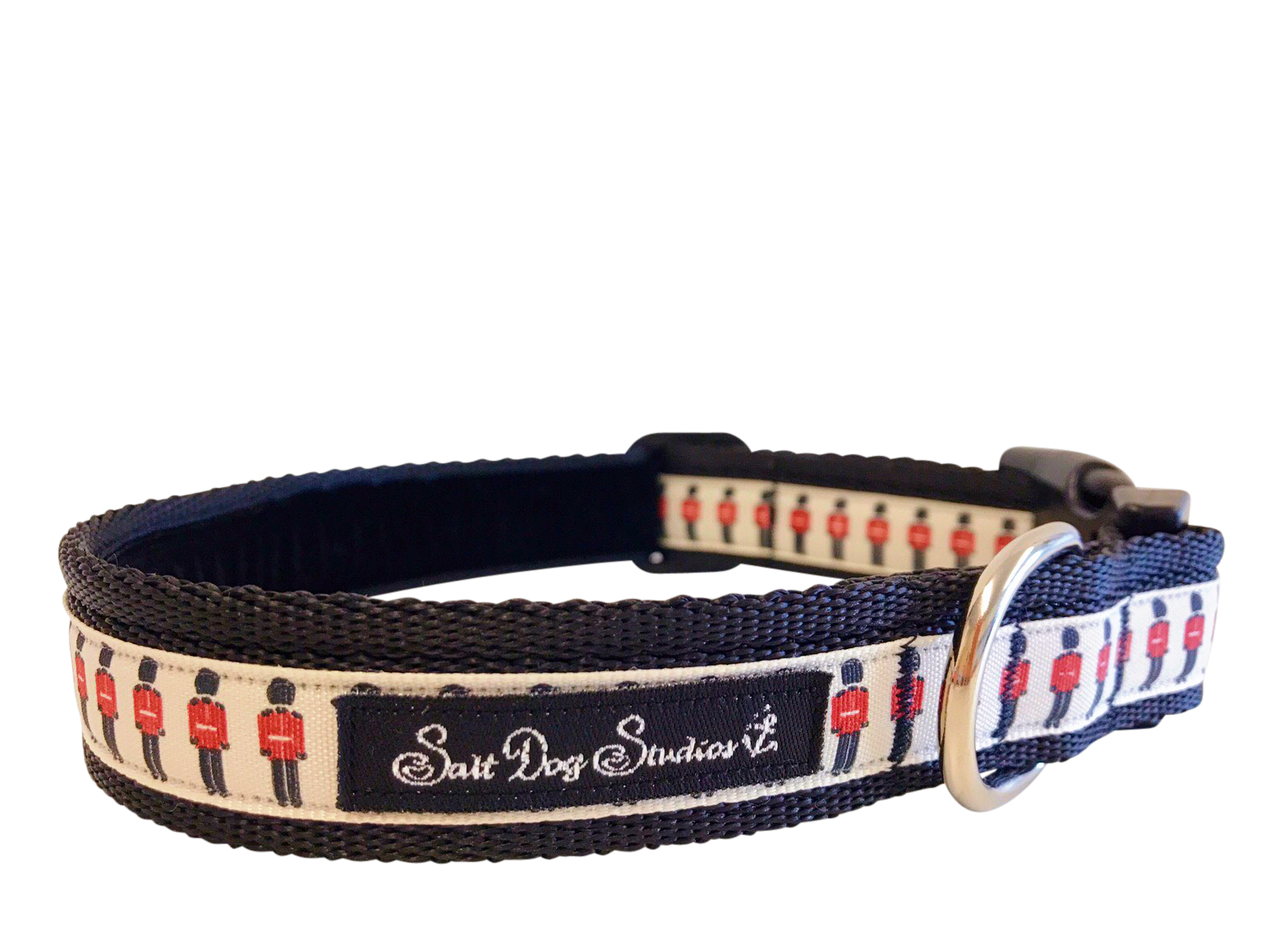 Little Soldiers Dog Collar ©