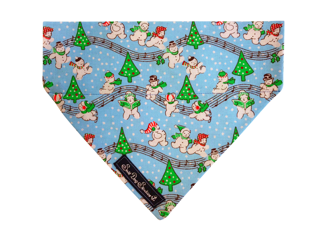 Party at the North Pole Christmas Dog Bandana  ©