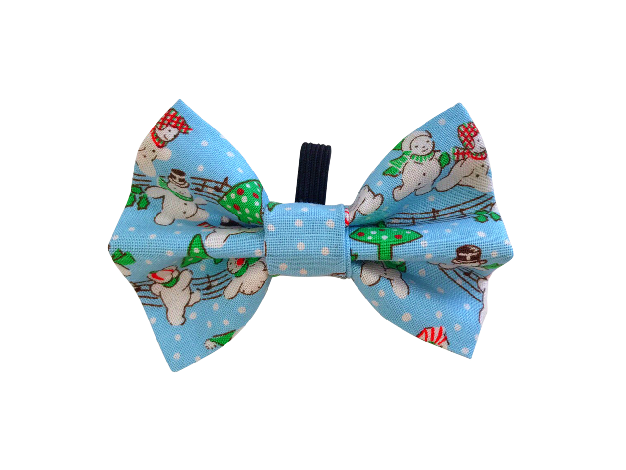 Party at the North Pole Blue Bow Tie ©
