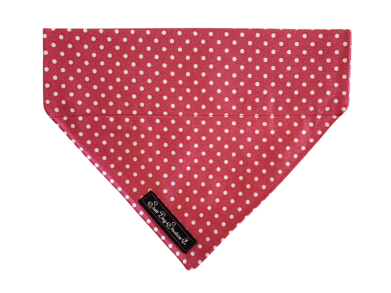 Pink Polka Dot Dolly Bandana ©
