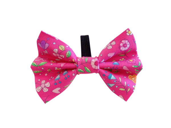Pretty in Pink Bow Tie ©