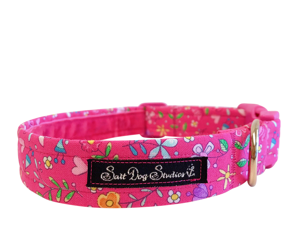 Pretty in Pink Dog Collar ©