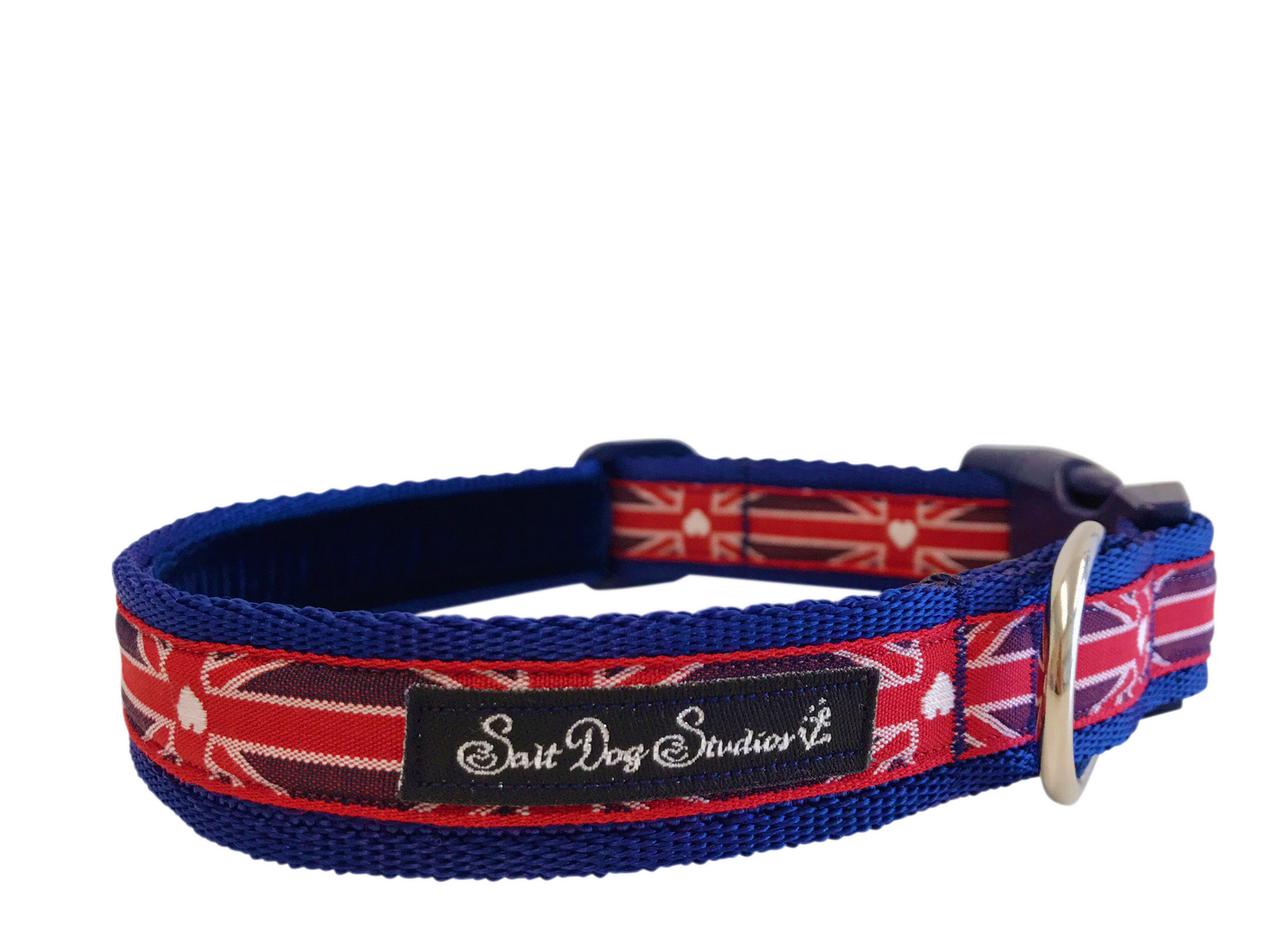 Rule Britannia Dog Collar ©