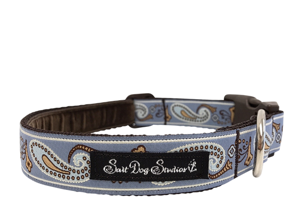 Smart Paisley Dog Collar ©