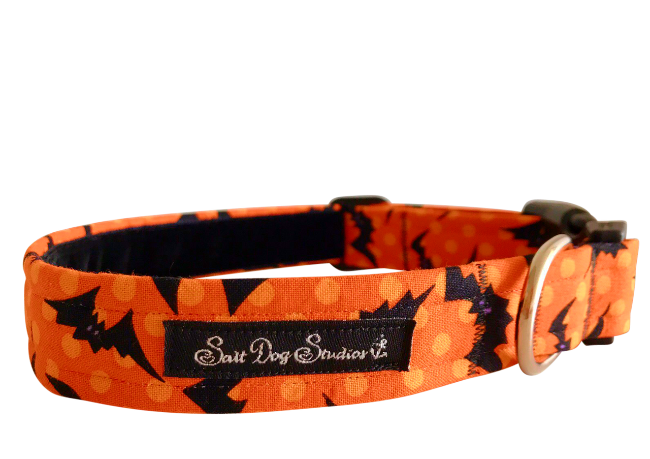 Witching Hour Halloween Dog Collar ©
