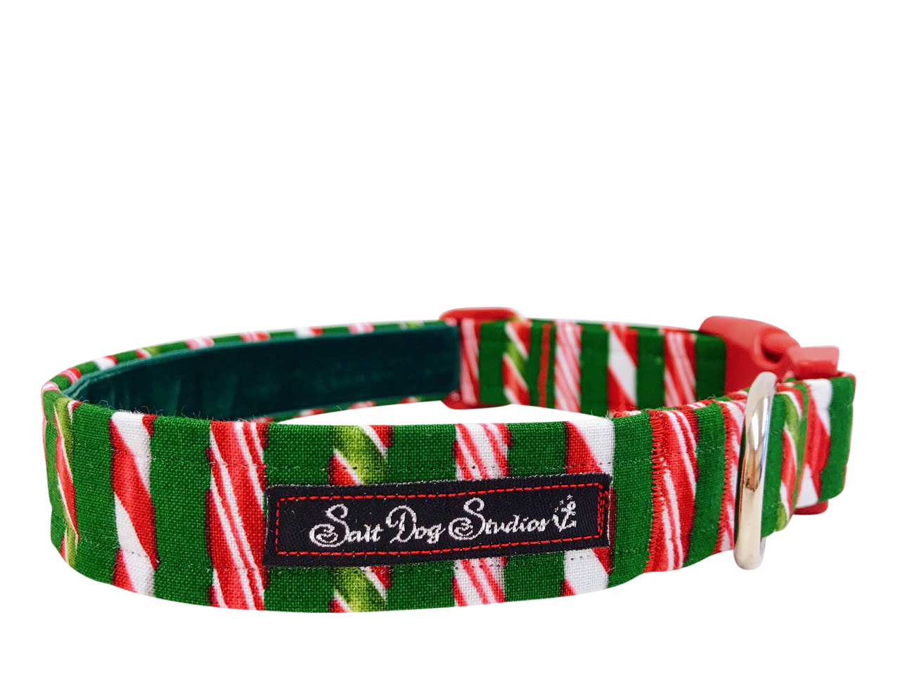 Ye Olde Sweet Shoppe Christmas Dog Collar ©
