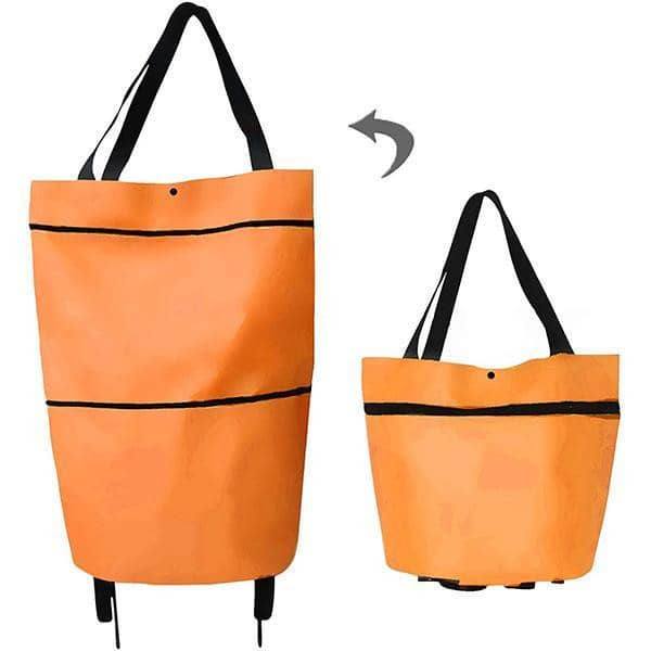 FIZO™ Foldable Shopping Trolley Tote Bag | Ship from USA | Buy 2 Get FREE SHIPPING - Fizo™ - # Best Designer Products Enlighting Your Life