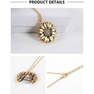 FIZO™ Sunflower Necklace ( 1 Pair ) | Ship from USA | Buy 2 Get FREE SHIPPING - Fizo™ - # Best Designer Products Enlighting Your Life