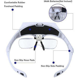 FIZO™  Magnifying Headset Glasses | Ship from USA | Buy 2 Get FREE SHIPPING