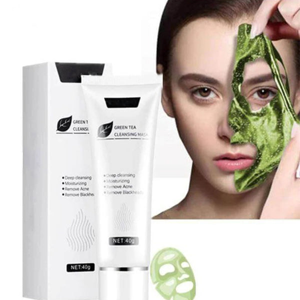 FIZO™  Green Tea Matcha Revitalizing Face Peeling Mask | Ship from USA | Buy 2 Get FREE SHIPPING