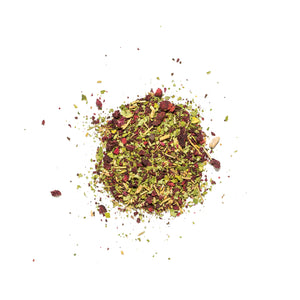 Load image into Gallery viewer, Clover Digest Beet + Moringa loose tea adaptogenic tea herbs for stress