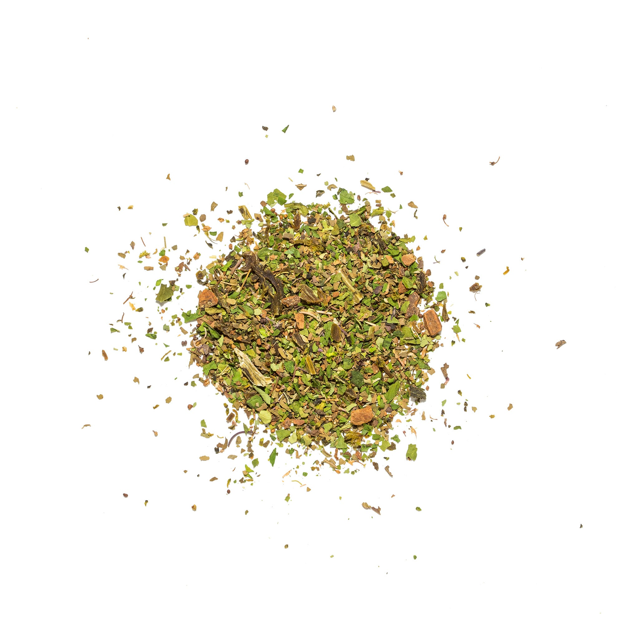 Clover Immunity Broccoli + Tulsi loose tea, adaptogenic tea herbs for stress