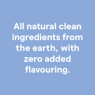 Clover clean ingredients with zero additives
