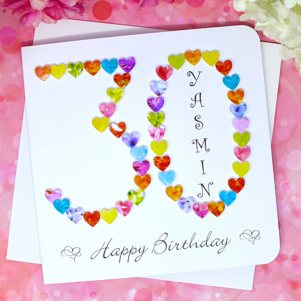 Age 30 Birthday Card - Personalised