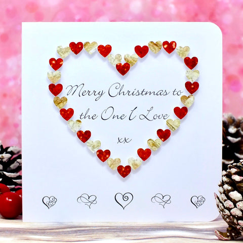 Merry Christmas to the One I Love - Christmas Card