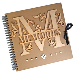 MEMORIES Large Scrapbook Album