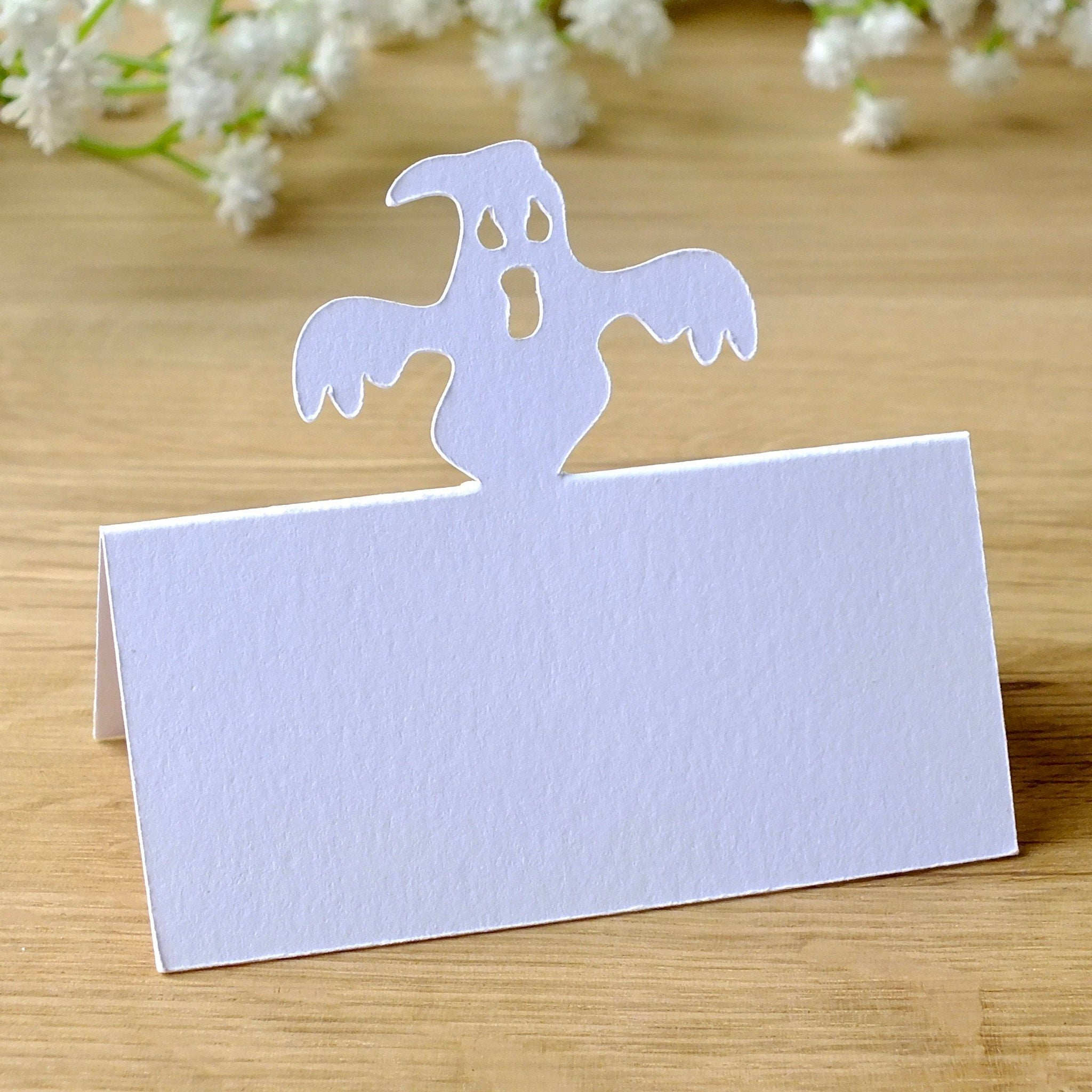 Ghost Place Cards - Set of 10