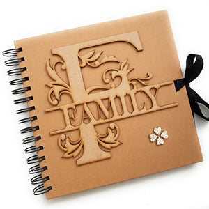 FAMILY - Rustic Scrapbook Album