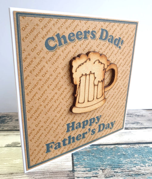 Father's Day Card - Cheers Dad!