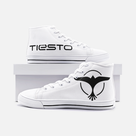 Tiesto Unisex High Top Canvas Shoes
