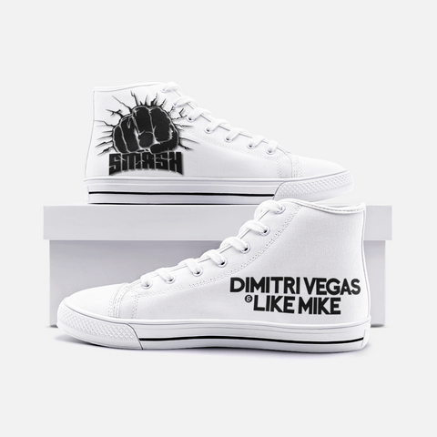 Dimitri Vegas And Like Mike Unisex High Top Canvas Shoes