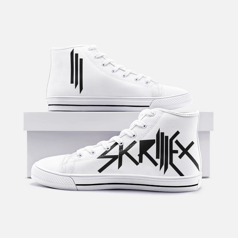 Skrillex Unisex High Top Canvas Shoes