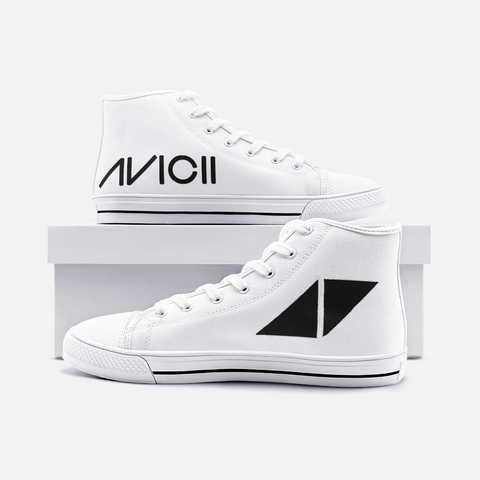 Avicii Unisex High Top Canvas Shoes