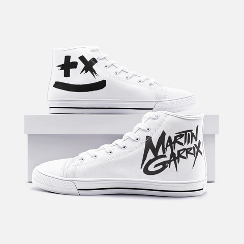 Martin Garrix Unisex High Top Canvas Shoes