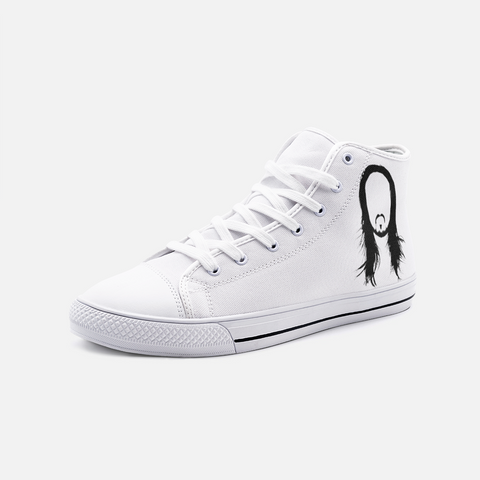 Steve Aoki  Unisex High Top Canvas Shoes