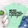 Never Underestimate A Woman Fueled By Prayer Tshirt