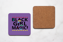 Load image into Gallery viewer, Black Girl Magic Coaster Set
