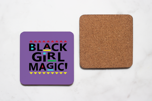 Black Girl Magic Coaster Set