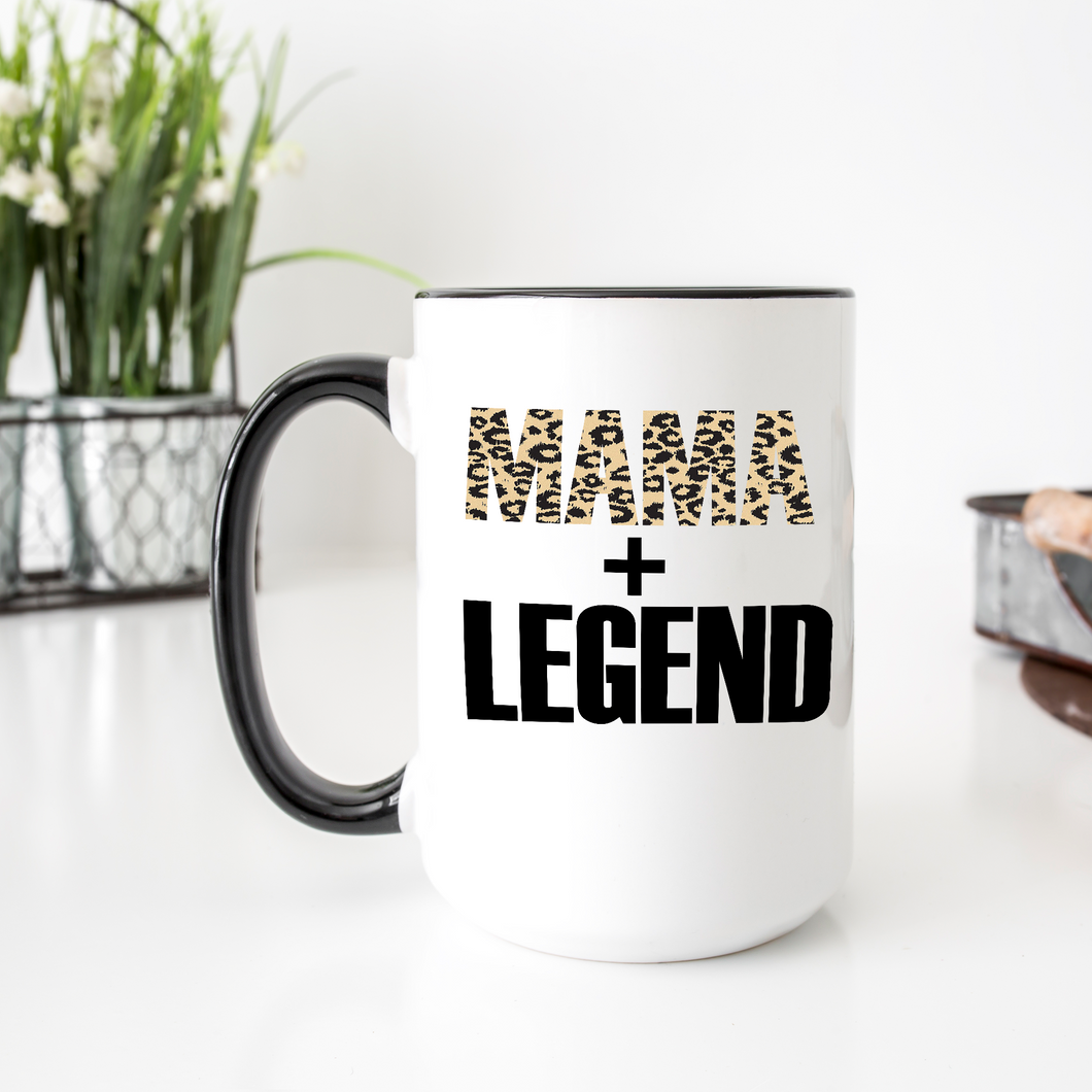Mama Legend | Large Coffee Cup | Royal Sweet Tees