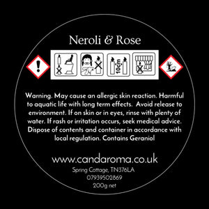 Neroli & Wild Rose Soy Blend Signature Candle