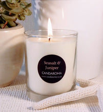 Load image into Gallery viewer, Seasalt & Juniper Soy Blend Signature Candle