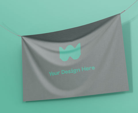 Custom designed vinyl banners from All Out Canvas - All Out Canvas