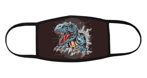T-Rex Mask - All Out Canvas