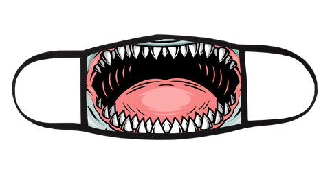 Shark Teeth Mask