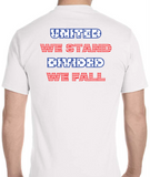 #StayOpenIL United We Stand, Divided We Fall Shirt - All Out Canvas
