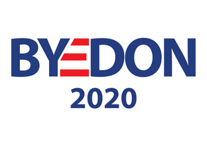 Byedon yard sign