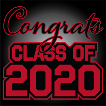 Load image into Gallery viewer, Black and Red Graduation Yard Sign