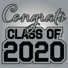 Load image into Gallery viewer, Gray and Black Graduation Yard Sign